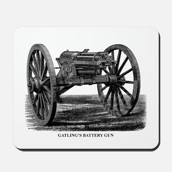 Gatling's Battery Gun Mousepad