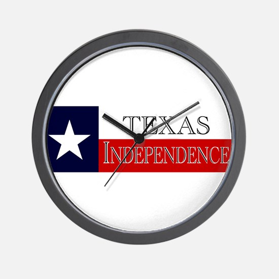 Texas Independence Wall Clock