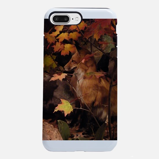 Red Fox in Fall iPhone 7 Plus Tough Case