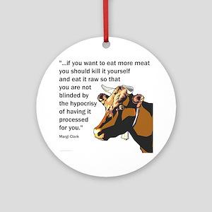 Kill It Yourself Ornament (Round)