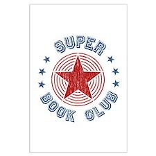 Super Book Club Large Poster