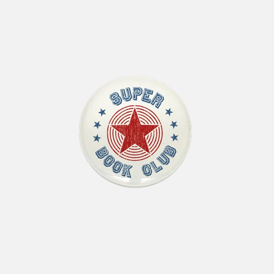 Super Book Club Mini Button