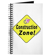 (Baby) 'Construction Zone' Journal