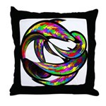 Impossible Geometry Throw Pillow