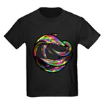 Impossible Geometry Kids Dark T-Shirt
