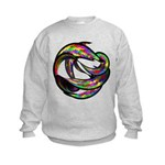 Impossible Geometry Kids Sweatshirt