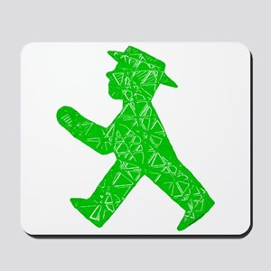 "Berlin ""Go"" Sign Mousepad"
