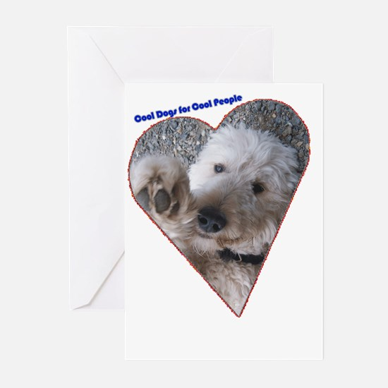 Cool Dogs for Cool People Greeting Cards (Package