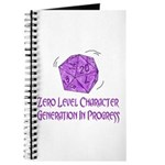 0-Level Character Generation Journal