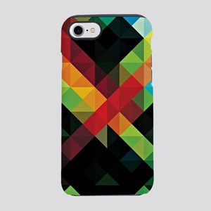 Colorful Geometric Abstract iPhone 7 Tough Case