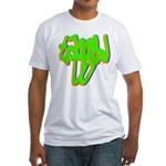 Tagged Fitted T-Shirt
