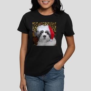 Christmas Shih Tzu Women's Dark T-Shirt