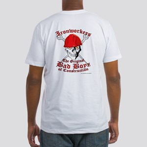 Fitted T-Shirt IronWorker Skull & Creoss Wrenc