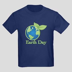 Earth Day Kids Dark T-Shirt