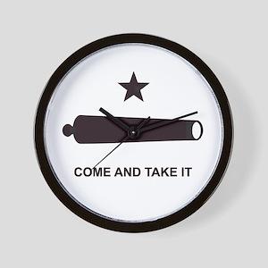 """""""GONZALES FLAG"""" Wall Clock"""