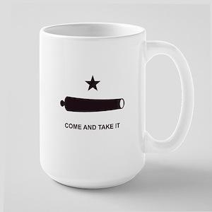"""""""GONZALES FLAG"""" Large Mug"""