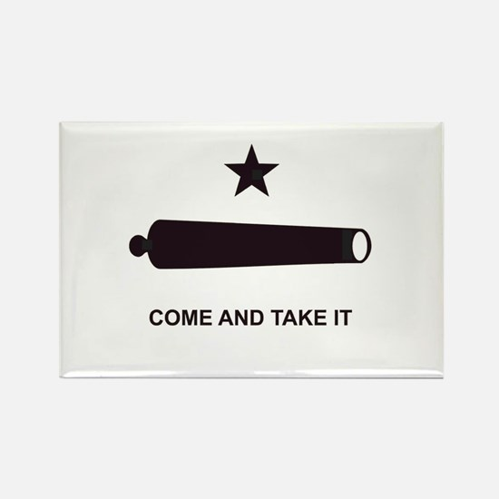"""GONZALES FLAG"" Rectangle Magnet (10 pack)"