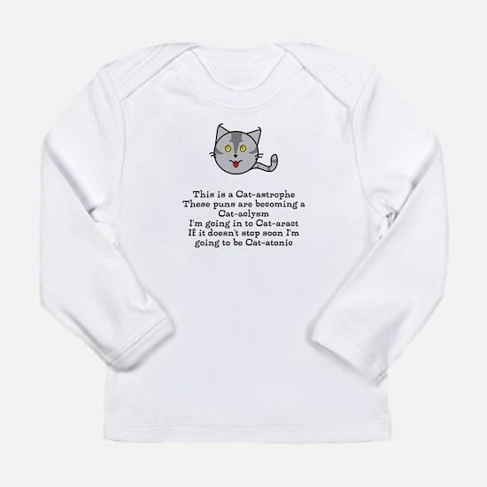 purrfect puns Long Sleeve T-Shirt