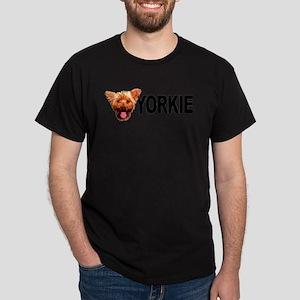 Yorkie Black T-Shirt