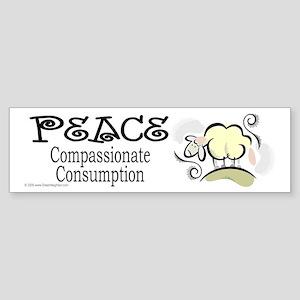 Compassionate Sticker (Bumper)