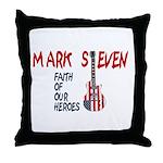Mark Steven Throw Pillow