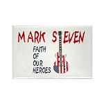 Mark Steven Rectangle Magnet (100 pack)