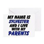 my name is sylvester and I live with my parents Gr