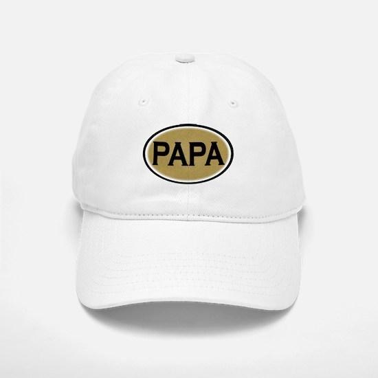 Papa Oval Baseball Baseball Cap