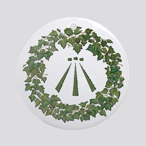 Ivy Awen Ornament (Round)