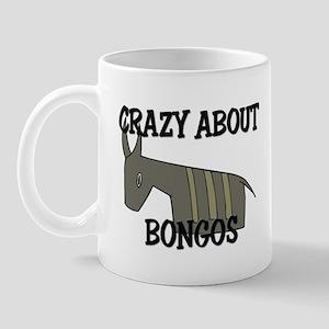 Crazy About Bongos Mug