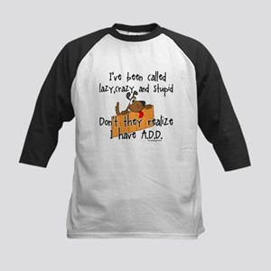I'm Not Lazy / A.D.D. Kids Baseball Jersey