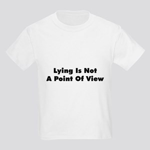 Lying Point of View Kids T-Shirt