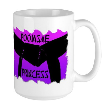 Taekwondo Poomsae Princess Large Mug
