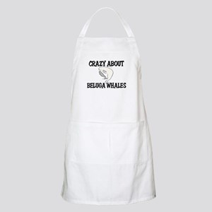 Crazy About Beluga Whales BBQ Apron