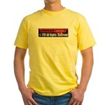 The Constitution Yellow T-Shirt