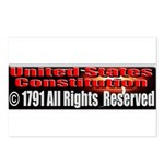 The Constitution Postcards (Package of 8)