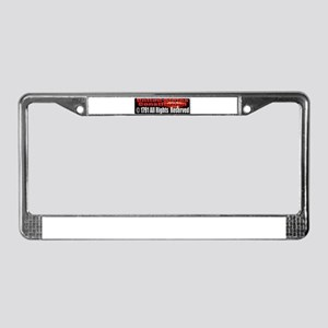The Constitution License Plate Frame