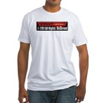 The Constitution Fitted T-Shirt
