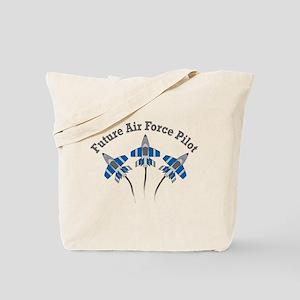 Future Air Force Pilot Tote Bag