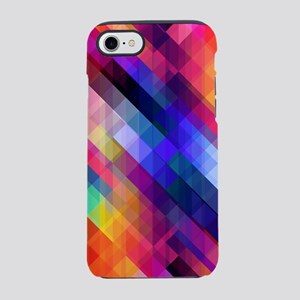 Colorful Stained Glass Effect iPhone 7 Tough Case