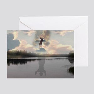 """""""Second Coming"""" Greeting Card"""