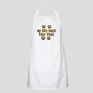 My Kids have Four Feet BBQ Apron
