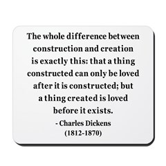 Charles Dickens 21 Mousepad