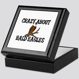 Crazy About Bald Eagles Keepsake Box