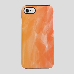 Orange Red Watercolor iPhone 7 Tough Case