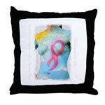 Ribbon in the Sky - Throw Pillow