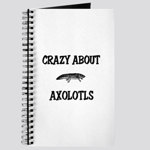 Crazy About Axolotls Journal