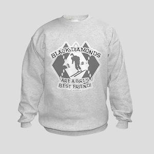 Black Diamonds Kids Sweatshirt