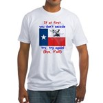 Bye, Y'all! Fitted T-Shirt