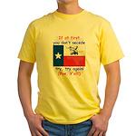 Bye, Y'all! Yellow T-Shirt